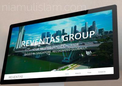 Website for Reventas Inc