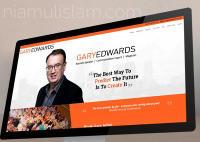Website for Gary Edwards