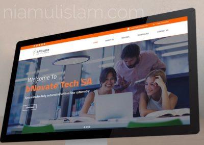 Website for bNovate Technologies