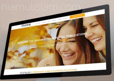 Website for dCatalog