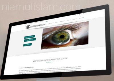 Website Development for South Coast Retina Center