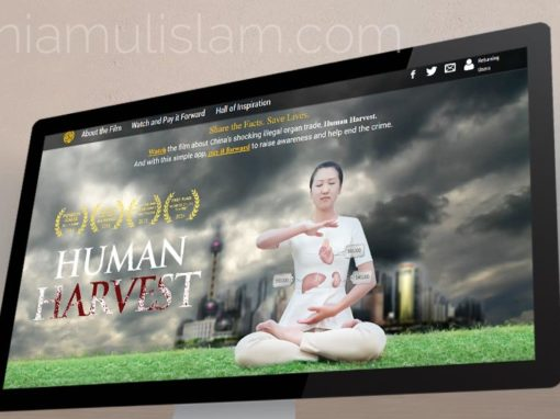 Website for Human Harvest